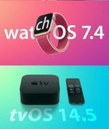 Вышли watchOS 7.4 и tvOS 14.5 для всех