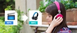 Три способа, как сделать из MP4 MP3